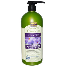 Load image into Gallery viewer, Avalon Organics, Shampoo, Nourishing Lavender (946ml)
