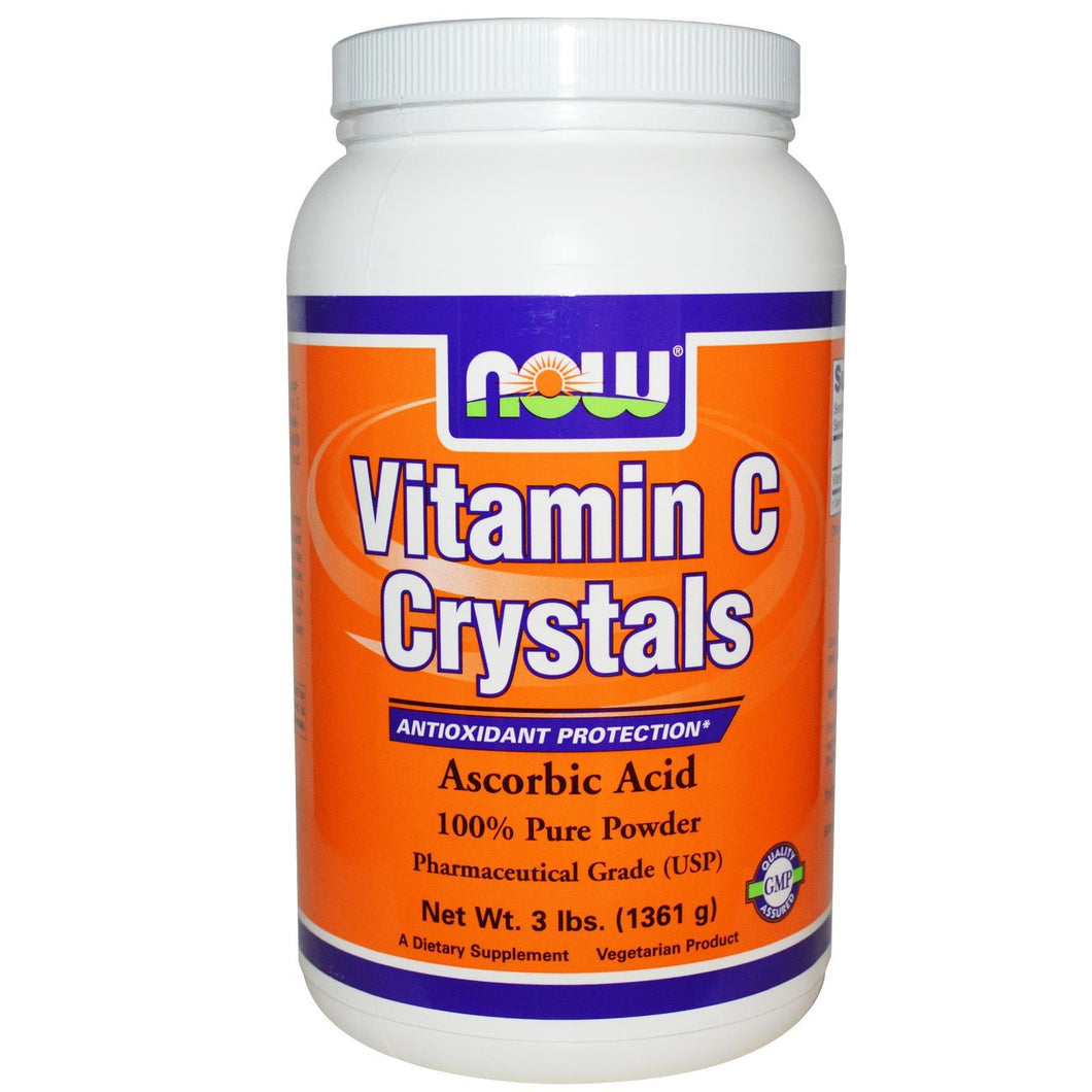 Now Foods, Vitamin C Crystals, 3 lbs, 1.36 Kg