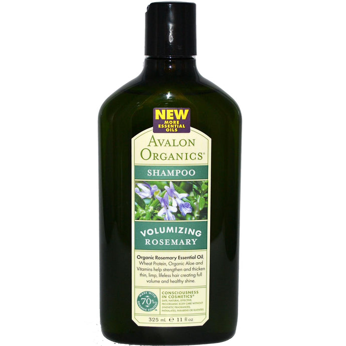 Avalon Organics Shampoo Volumising Rosemary (325ml)