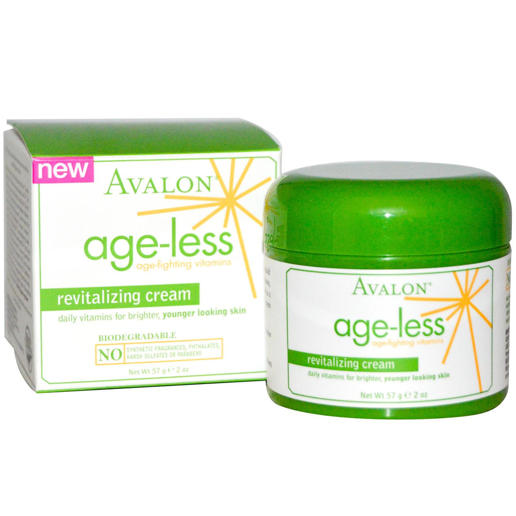 Avalon Organics, Age-Less, Revitalising Cream, 57 grams
