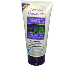 Load image into Gallery viewer, Avalon Organics, Exfoliating Enzyme Scrub Lavender, Luminosity (113g)