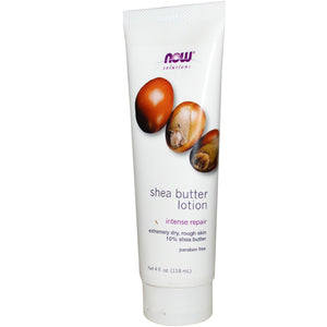 Now Foods, Solutions, Shea Butter Lotion, 4 fl oz, 118 ml