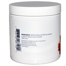 Load image into Gallery viewer, Now Foods, Solutions, Moroccan Red Clay, Facial Detox, Powder, 6 oz, 170 grams