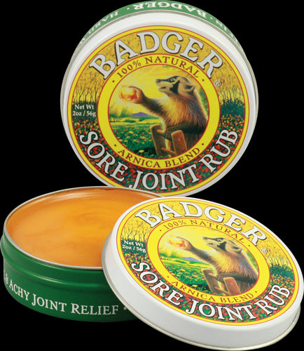Badger Company, Sore Joint Rub, Arnica Blend, 2 oz, 56 grams