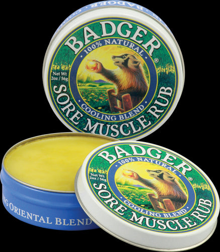 Badger Company, Sore Muscle Rub, Cooling Blend, 2 oz, 56 grams
