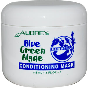 Aubrey Organics, Hair Rescue, Conditioning Mask, Blue Green Algae, 4 fl oz, 118ml