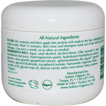 Load image into Gallery viewer, Aubrey Organics, Hair Rescue, Conditioning Mask, Blue Green Algae, 4 fl oz, 118ml