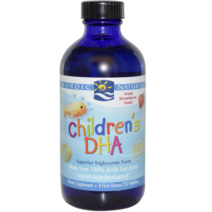Nordic Naturals, Children's DHA, Stawberry, 237ml - Dietary Supplement