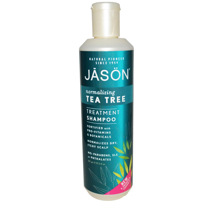 Jason Natural, Treatment Shampoo, Normalising Tea Tree, 17.5 flo oz, 517ml