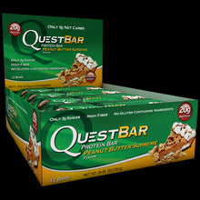 Load image into Gallery viewer, Quest Nutrition Protein Bar Peanut Butter Supreme 12 Bars 60g Each