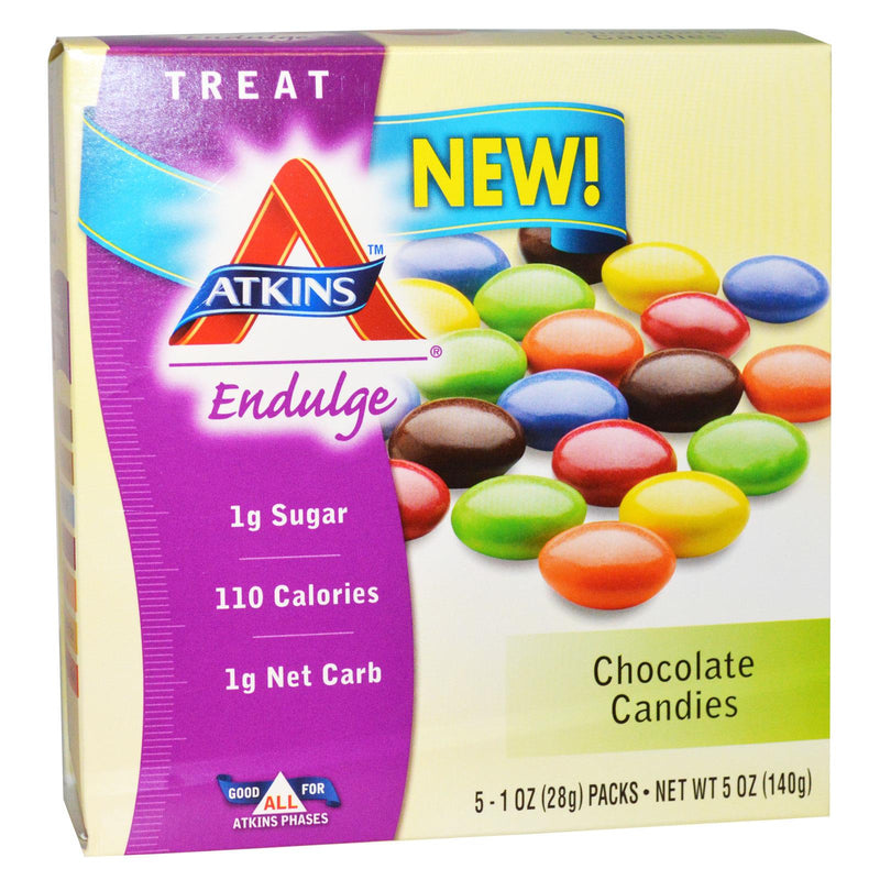 Atkins, Treat Endulge, Chocolate Candies, 15 Packs, 28g Each
