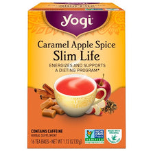 Load image into Gallery viewer, Yogi Tea, Slim Life, Caramel Apple Spice, 16 Tea Bags, 1.12 oz (32 g)