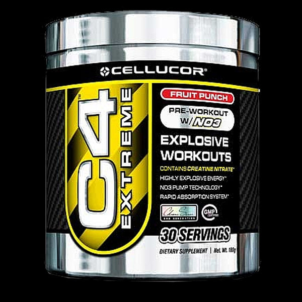 Cellucor C4 Extreme, 30 Servings, Fruit Punch - Dietary Supplement