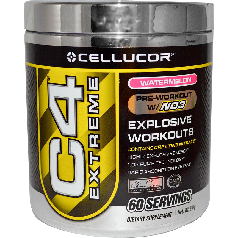 Cellucor C4 Extreme, 60 Servings, Watermelon - Dietary Supplement