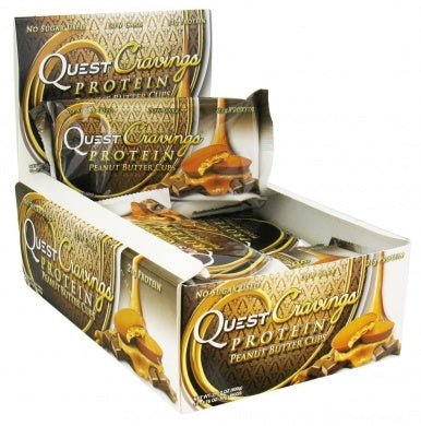 Quest Nutrition Quest Cravings Protein Peanut Butter Cups 12 Packs 50g Each