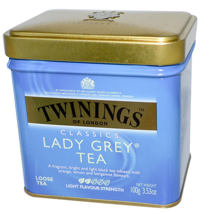 Twinings Classics Lady Grey Loose Tea 100 grams - Herbal Supplement