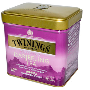 Twinings, Origins, Darjeeling, Loose Tea, 100 gramss