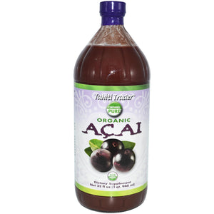 Tahiti Trader, Organic Acai, 946 ml - Dietary Supplements