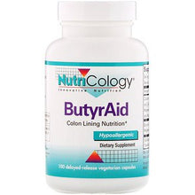 Load image into Gallery viewer, Nutricology, ButyrAid, 100 Tablets