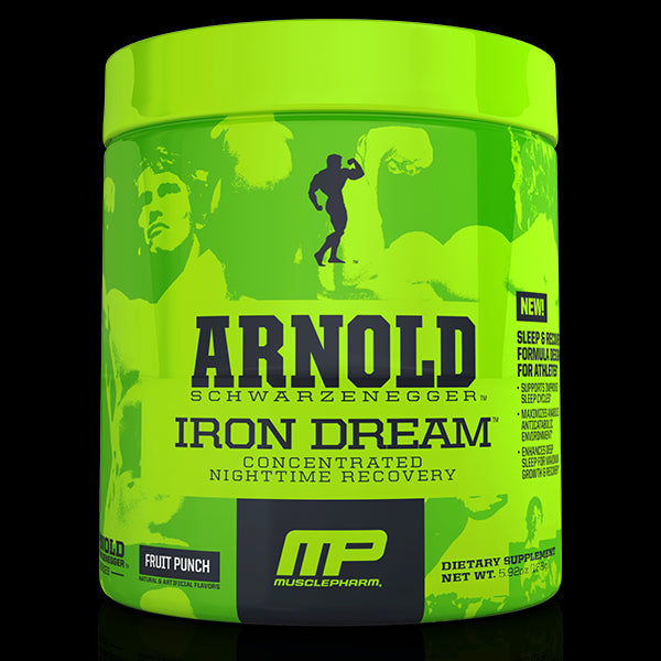 Arnold Iron Dream Concentrated Nighttime Recovery Fruit Punch 5.92 oz (168 g) - Dietary Supplement