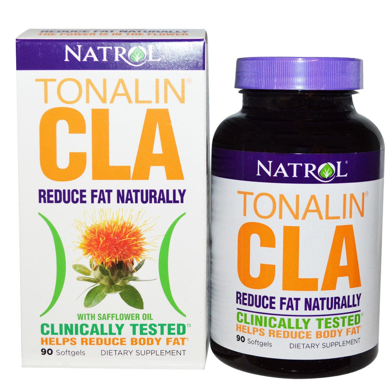 Natrol Tonalin CLA with Safflower Oil 90 Softgels - Dietary Supplement
