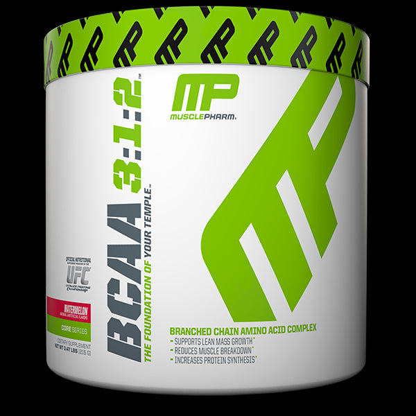Muscle Pharm, BCAA 3:1:2, Watermellon, 0.47 lbs, 215 g - 30 Servess