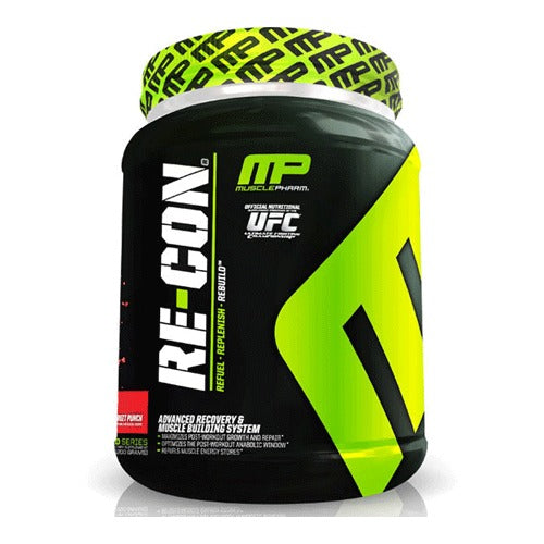 Muscle Pharm, Re-Con, Advanced Recovery & Muscle Building System, Watermelon, 2.64 lbs, 1200 gs