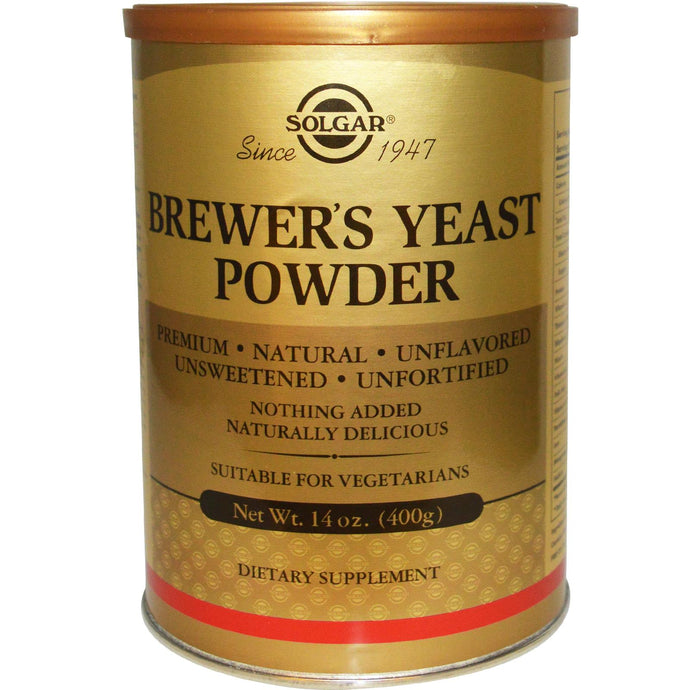 Solgar, Brewer's Yeast Powder, 400 g, Totally Naturals