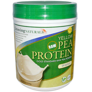 Growing Naturals Yellow Pea Protein Original 456 g