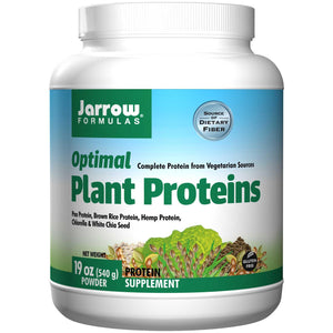 Jarrow Formulas, Optimal Plant Proteins, Powder, 540 gs