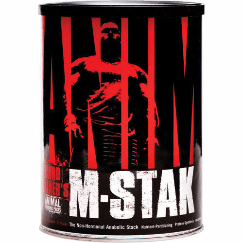 Universal Nutrition Animal M-Stack The Non-Hormonal Anabolic Stack 21 Packs