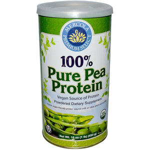 Dr. Mercola 100% Pure Pea Protein 454g Powder - Dietary Supplement