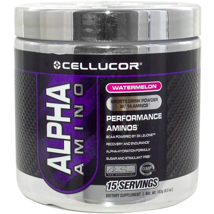 Cellucor, Alpha Amino, Sports Drink Powder, Watermelon, 183 g