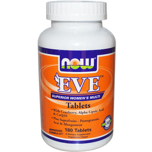 Now Foods Eve Superior Women's Multi Vitamin 180 Tablets