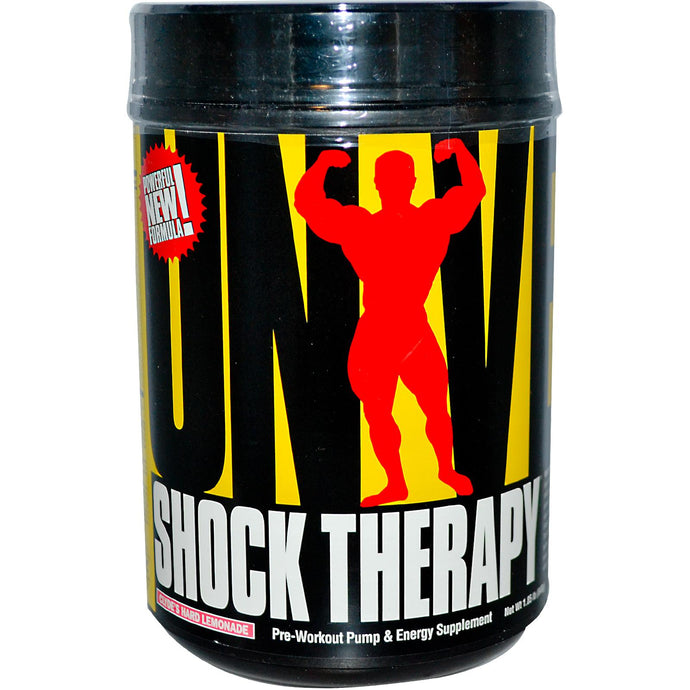 Universal Nutrition, Shock Therapy, Hard Lemonade, 840 g