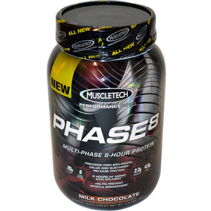 Muscletech Performance Series Phase8 Protein Milk Chocolate 907g
