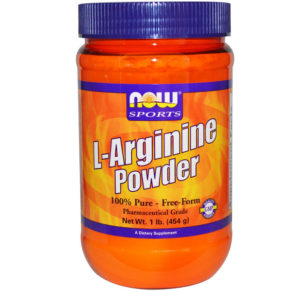 Now Foods, Sports, L-Arginine Powder, 454 g