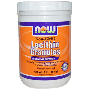 Now Foods, Lecithin Granules, Non-GMO, 454 g