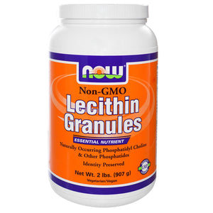 Now Foods, lecithin Granules, Non-GMO, 907 g