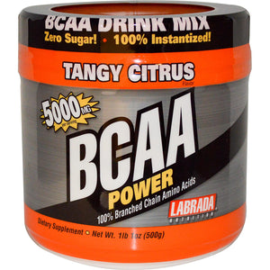 Labrada Nutrition, BCAA Power, Tangy Citrus, 500 g