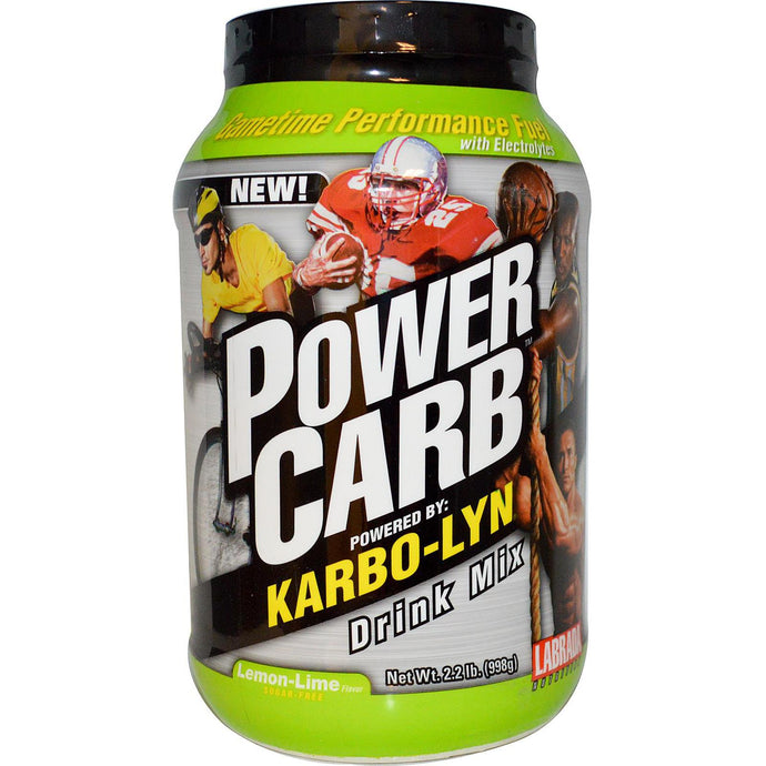Labrada Nutrition, Power Carb Drink Mix, Lemon-Lime, 998 g
