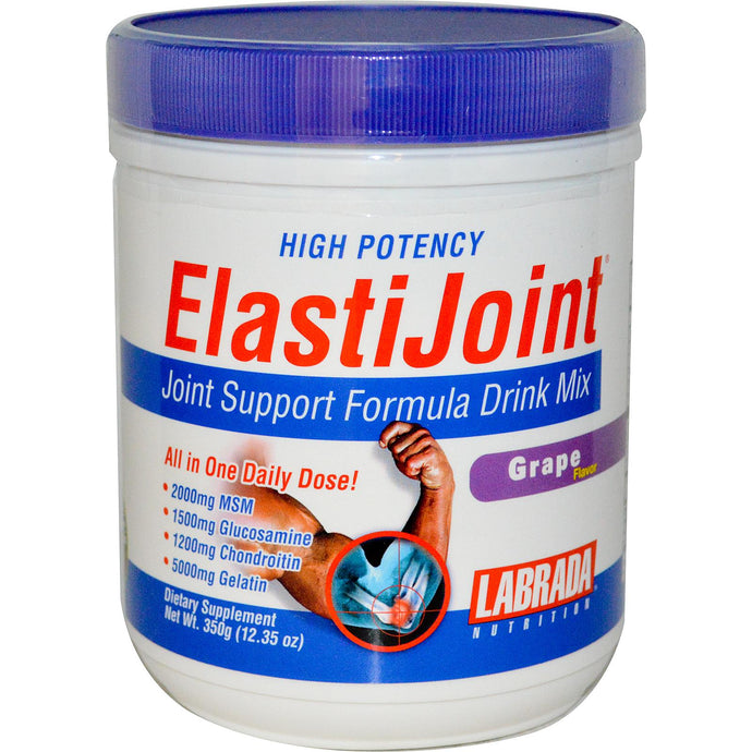 Labrada Nutrition, ElastiJoint, Joint Support, Drink Mix, Grape, 350 g