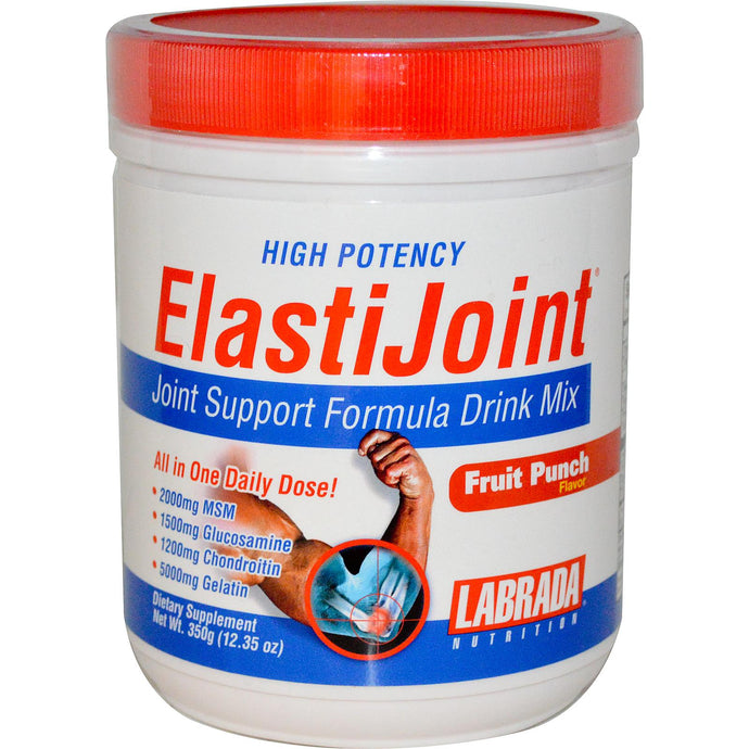 Labrada Nutrition, ElastiJoint, Joint Support, Drink Mix, Fruit Punch, 350 g