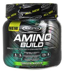 Muscletech Amino Build, Green Apple, 267 g - 30 Serves