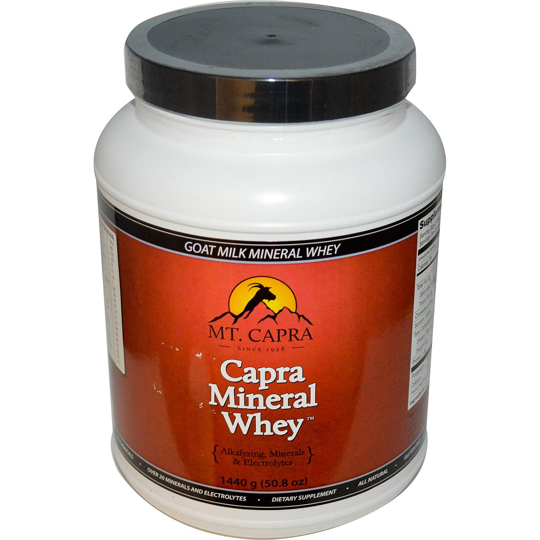 Capra Capra Mineral Whey 1.440 Kg - Dietary Supplement