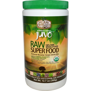 Juvo, Raw Super Food, Immune Booster, 100% Raw Whole Food, Green Drink Mix, 360 g