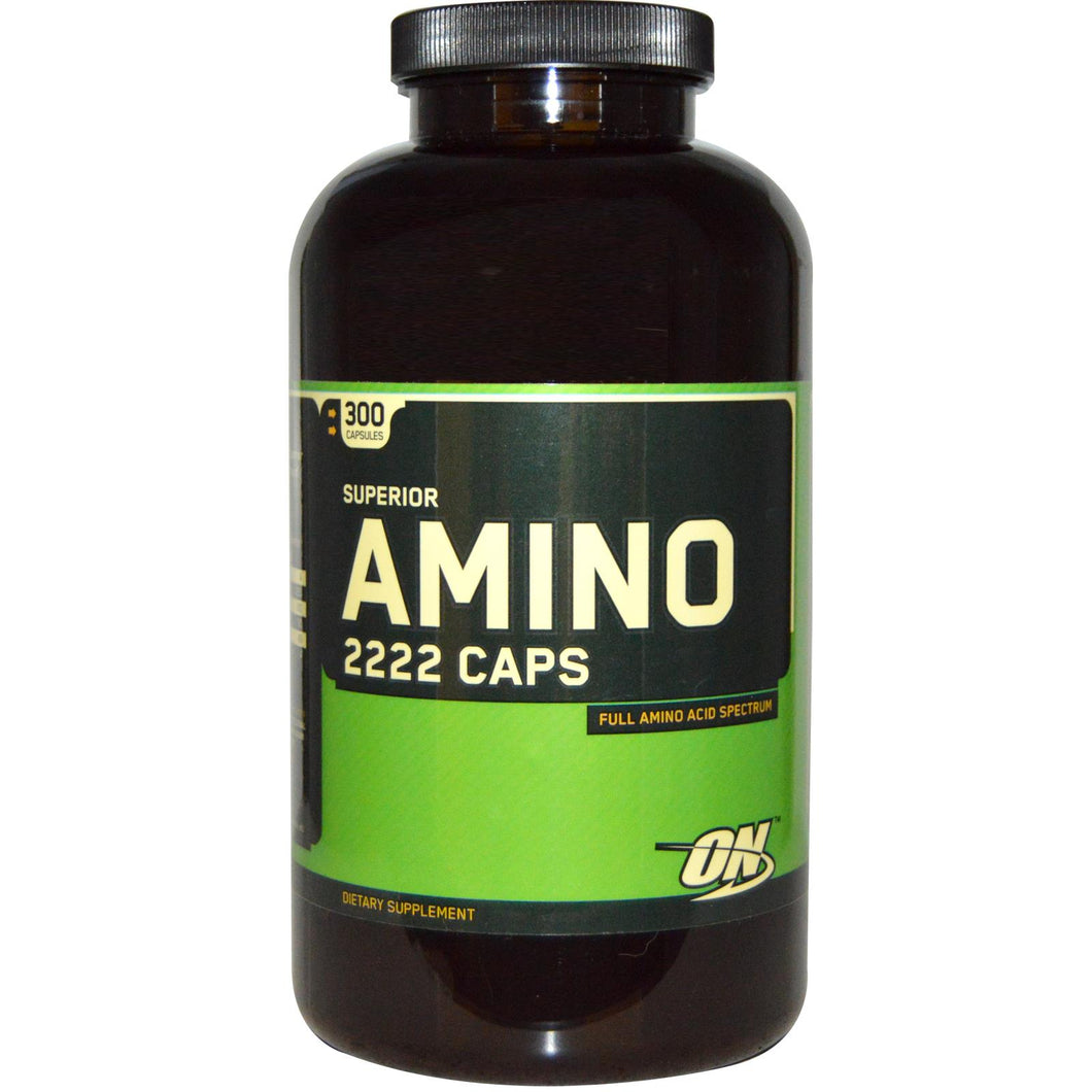 Optimum Nutrition, Superior Amino 2222 Caps, 300 Capsules