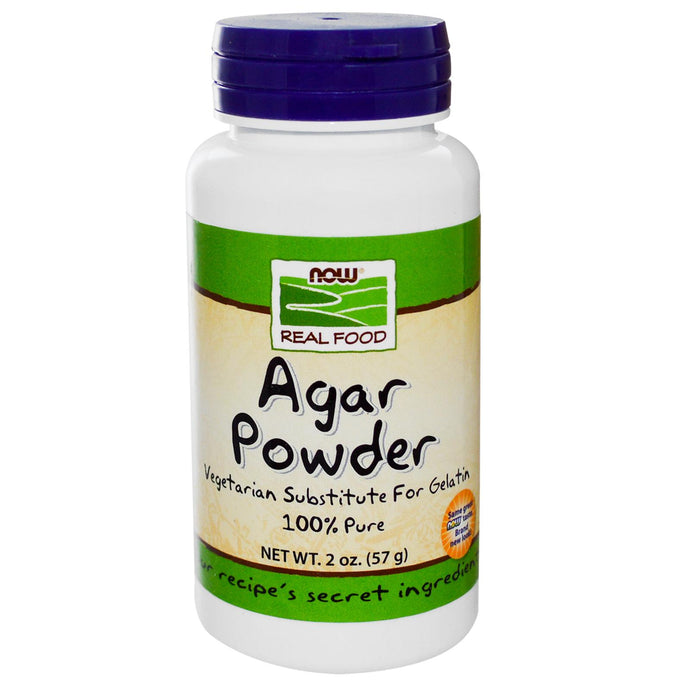 Now Foods, Agar Powder, Real Food, 57 g