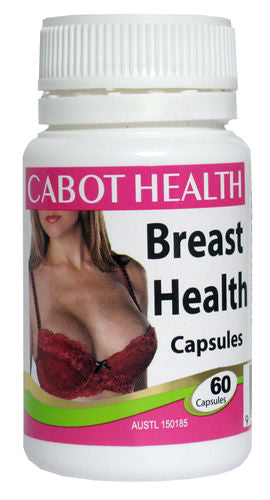 Cabot Health, Breast Health, 60 Capsules