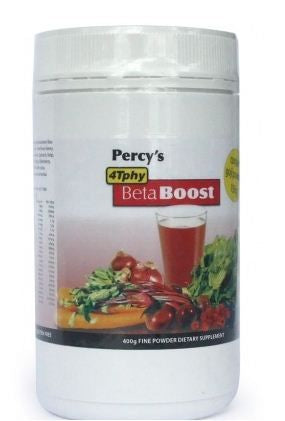 Percy's Powder Beta Boost Berry Sweet Earth 350g - Natural Supplement